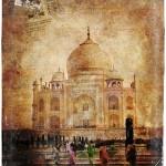 Taj Mahal, Agra, India - Forgotten Postcard