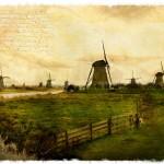 Kinderdijk, The Netherlands - Forgotten Postcard