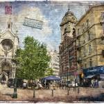 Sainte Catherine Square, Brussels, Belgium - Forgotten Postcard