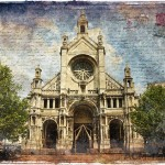 Sainte Catherine Church, Brussels, Belgium - Forgotten Postcard