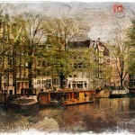 Amsterdam, The Netherlands - Forgotten Postcard