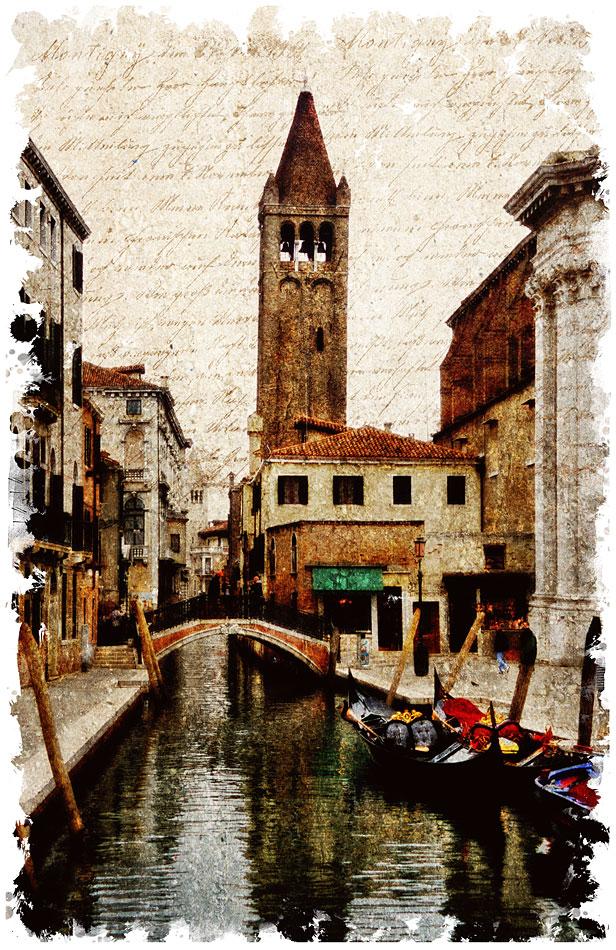 Venice, Italy 1 - Forgotten Postcard