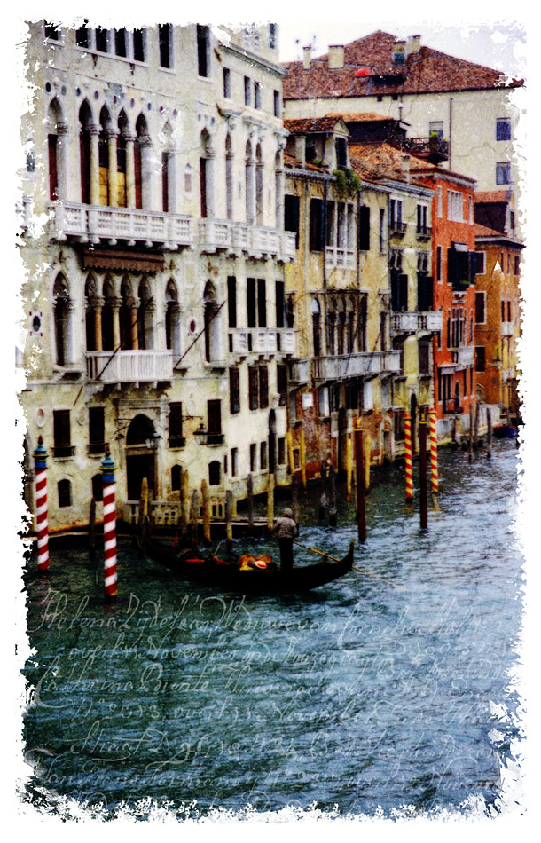 Venice, Italy 3 - Forgotten Postcard