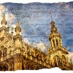 Grand Place, Brussels, Belgium - Forgotten Postcard