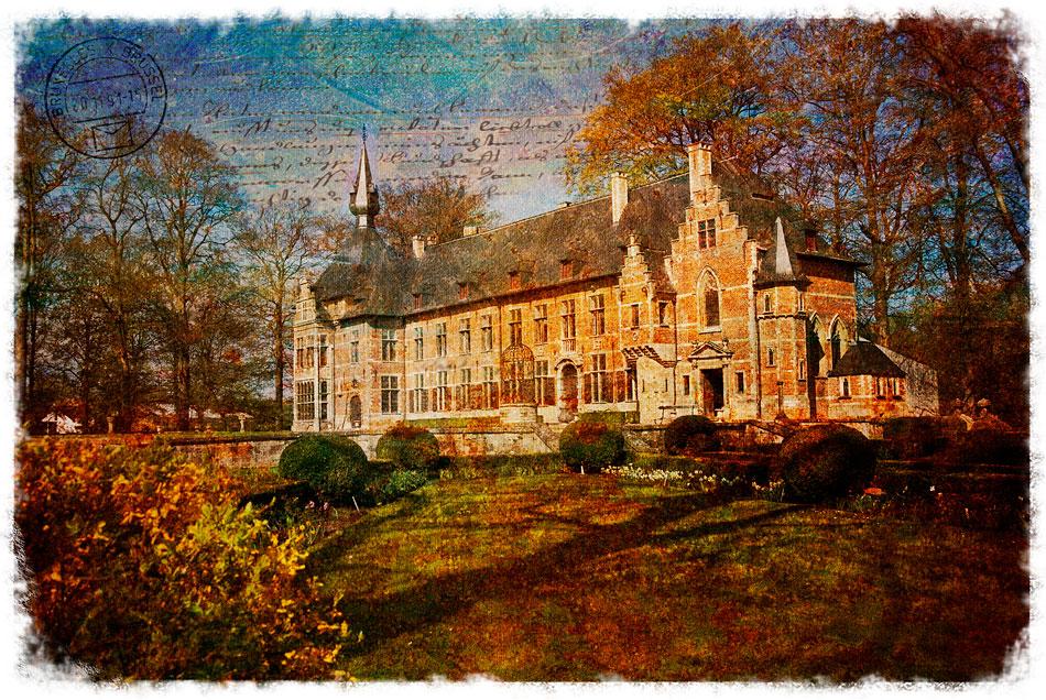 Groot-Bijgaarden Castle, Belgium - Forgotten Postcard
