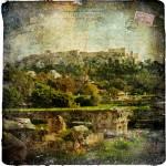 The Acropolis, Athens, Greece - Forgotten Postcard