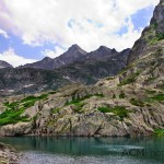 Pyrenees Mountain Lake