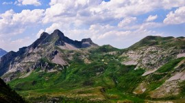 The Pyrenees Mountains in July Photo Gallery