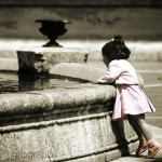 Girl at the Fountain
