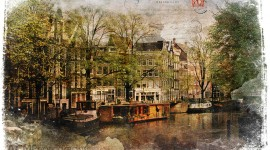 Forgotten Postcard Amsterdam, The Netherlands