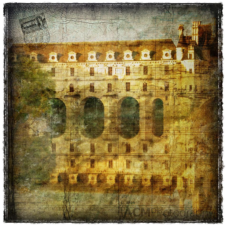 Château de Chenonceau, France - Forgotten Postcard