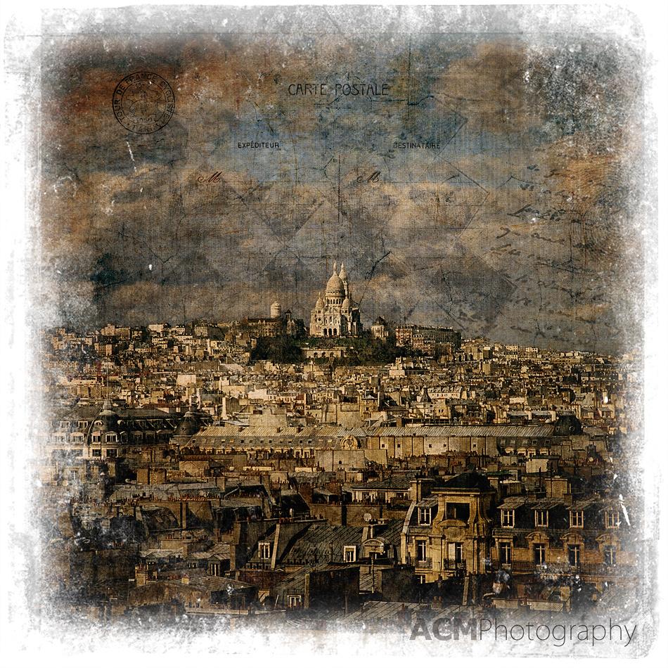 Sacré-Cœur, Paris - Forgotten Postcard