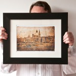 Small Framed Print (Thick Frame)
