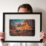 Small Framed Print (Thin Frame)