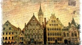 Ghent, Belgium - Forgotten Postcard