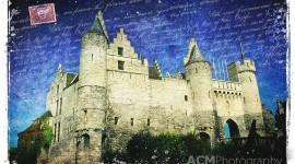 Het Steen Castle, Antwerp, Belgium - Forgotten Postcard