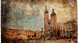 Krakow, Poland - Forgotten Postcard