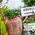 Tiny streets near the Acropolis