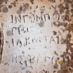 Graffiti from 1900
