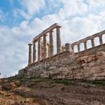 Poseidon Temple at Cape Sounion, Greece