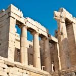 The Propylaea (entrance to the Acropolis)