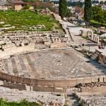 Dionysus theatre, Athens, Greece