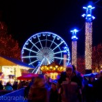 Ferris Wheel at the Christmas Market, Brussels, Belgium