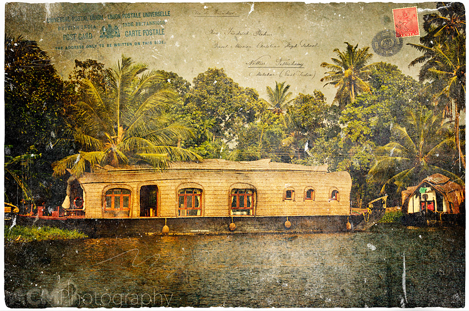 Kerala Backwaters, India - Forgotten Postcard
