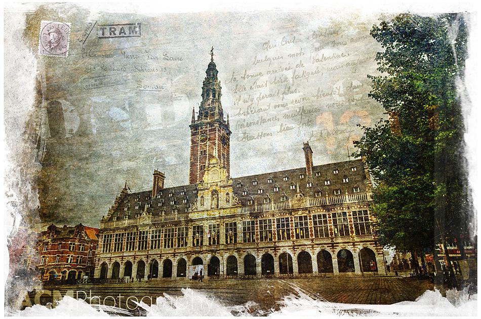 KU Leuven Library, Belgium | Forgotten Postcard