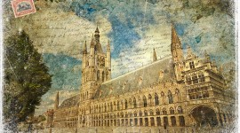 Cloth Hall - Ypres, Belgium | Forgotten Postcard