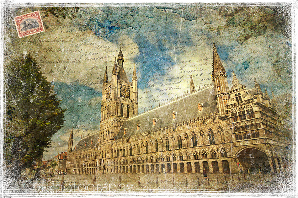 Cloth Hall, Ypres, Belgium