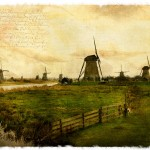Kinderdijk, The Netherlands - Forgotten Postcard