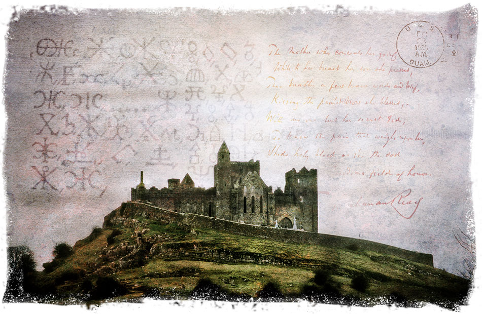 Rock of Cashel, Ireland - Forgotten Postcard