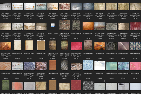 My Favourite Free Texture Resources