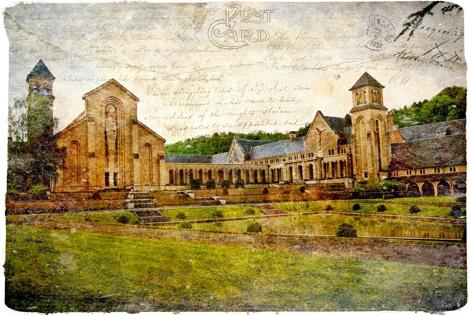Orval, Belgium - Forgotten Postcard