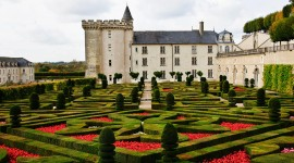 Photographing the Chateau Villandry