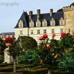 Chateau Villandry Viewed from The Kitchen Garden
