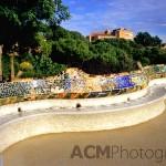 Gaudi's Wavy Bench