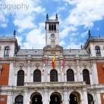 The Plaza Mayor in Valladolid, Spain