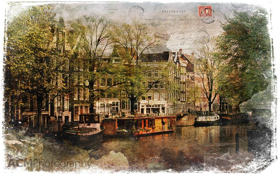 Forgotten Postcard Amsterdam