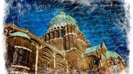 Basilica of Koekelberg, Brussels, Belgium - Forgotten Postcard