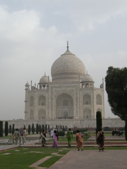 Taj Mahal, Before Image