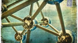 Atomium, Brussels, Belgium - Forgotten Postcard