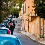 Athens Street Scene