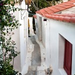 Tiny streets in Athens, Greece