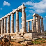 Poseidon Temple at Cape Sounion, Greece