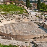 Dionysus theatre, Athens, Greece