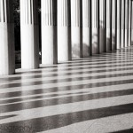 Black and White Pillars of the Agora