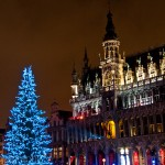 Christmas in Grand Place Brussels, Belgium 2010