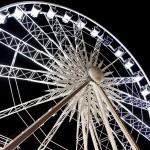 Ferris Wheel at the Christmas Market, Brussels, Belgium